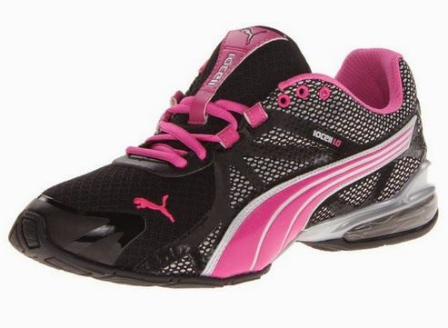 PUMA Women\u0027s Voltaic 5 Cross-Training Shoe,Black/Fluo B US Light weight,  bold style and steady performance team up in the PUMA Voltaic 5