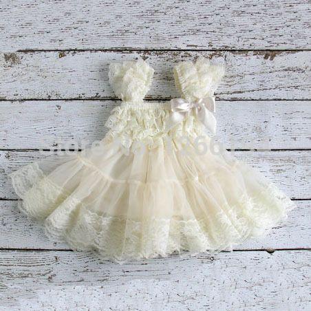 vestido de encaje para recién nacidas                                                                                                                                                                                 Más