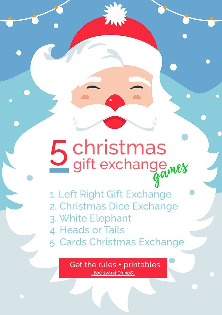 5 Christmas Games For Gift Exchange That Are Easy And Fun In 2020 Gift Exchange Games Christmas Gift Exchange Games Christmas Gift Games