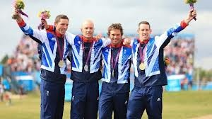 Gold and Silver for Team GB in the Men's Pairs Canoeing.