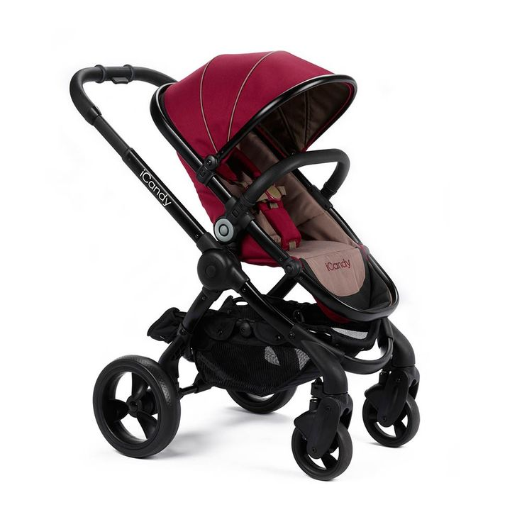 iCandy Peach 3 Pram & Pushchair in Claret and Black http://www.parentideal.co.uk/mothercare---icandy-peach-3-pushchair.html