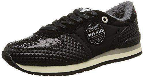 Pepe Jeans London GABLE GLITTER Damen Sneakers - http://on-line-kaufen.de/pepe-jeans/pepe-jeans-london-gable-glitter-damen-sneakers