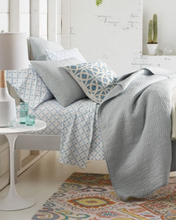 18 best KI bedroom accessories images on Pinterest   Bedroom ... : garnet hill dream quilt - Adamdwight.com