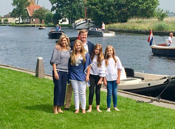 Dutch Royal Family Summer Photo Call 2017