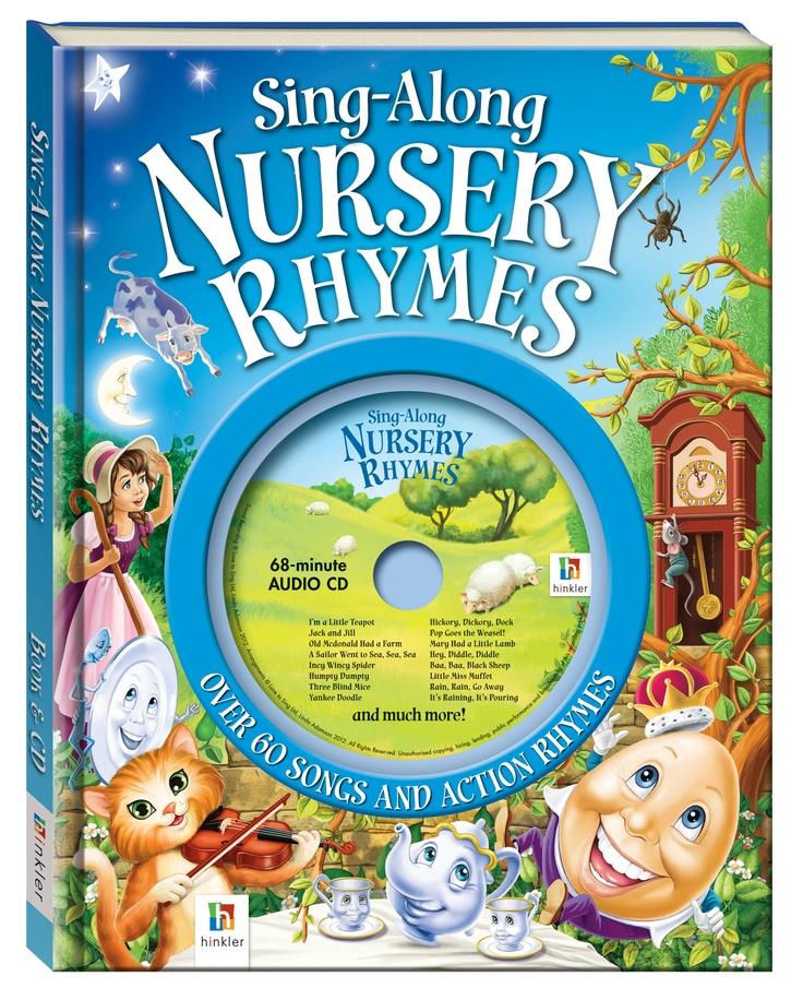 Nursery Rhymes (audio & book)