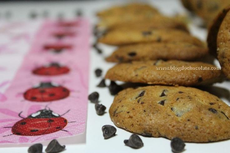 Bolachas com Pepitas de Chocolate / Chocolate Cookies