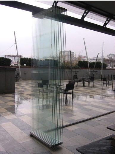 ALAFORM glass folding door systems ALA/600
