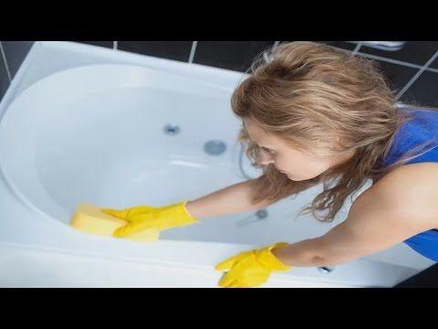 Очищаем ванну после марганцовки - YouTube