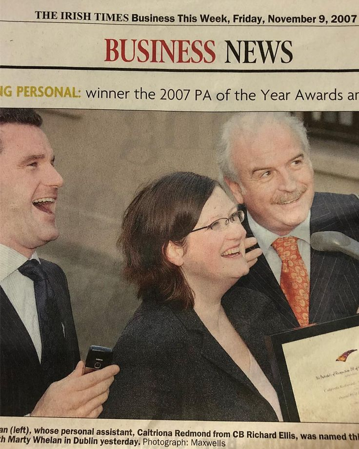 10 years ago in the Irish Times Business Section. A lifetime away. #TBT