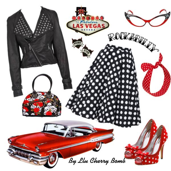 Rockabilly, baby!, created by llucherrybomb