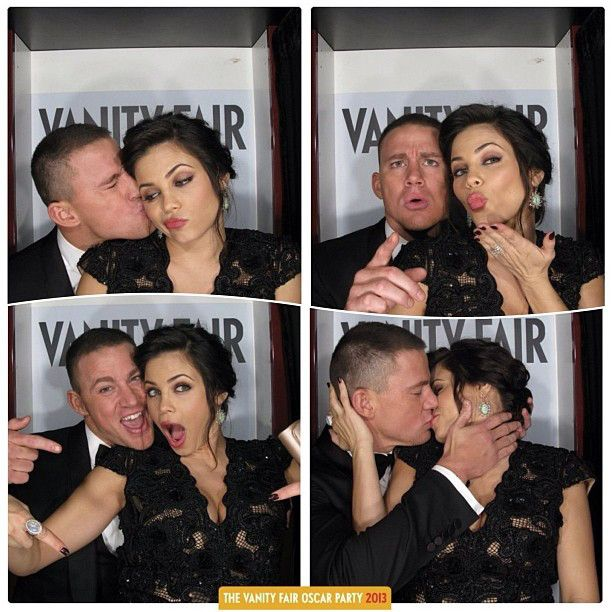 CHANNING & JENNA DEWAN-TATUM Channing Tatum and wifey Jenna Dewan-Tatum are young, hip and fun...and madly in love.
