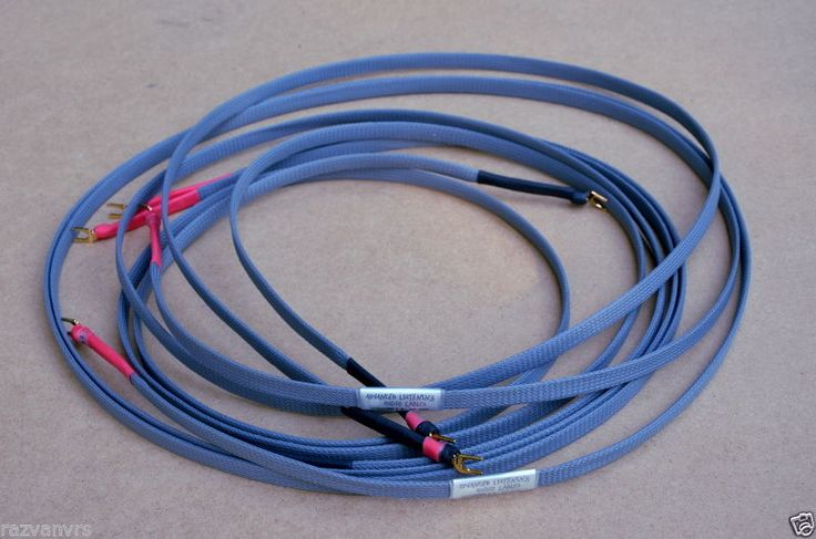advanced listening audio cable  ALAC Type 1A Speaker Cable, made in Germany