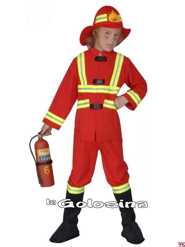 Disfraces infantiles (niño/a) (0 a 13 años) - 01 - Niños (de 0 a 13 años) -Disfraz Inf. Niñ@: BOMBERO