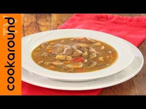 Zuppa di funghi e castagne / Ricetta invernale - YouTube