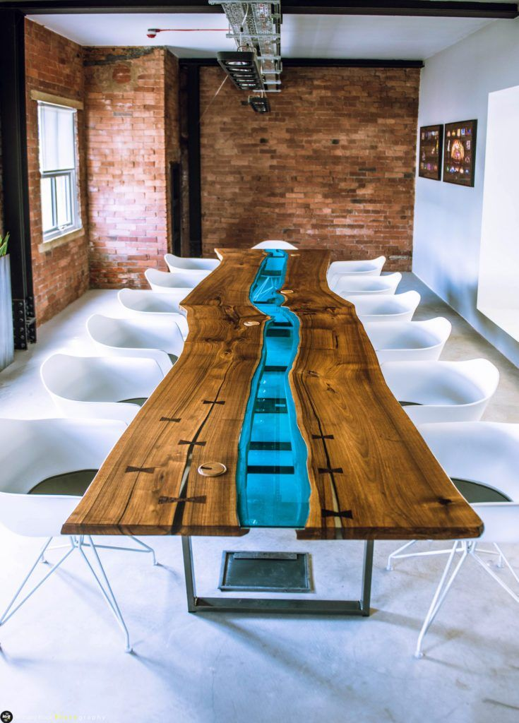Glass River Boardroom Table By Revive Joinery Table Boardroom