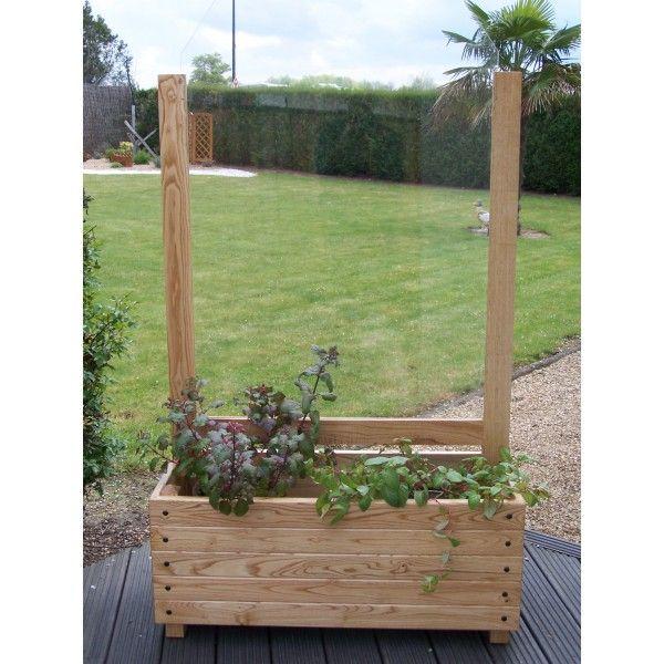 jardiniére brise - vent