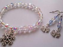 Komplet biżuterii dla Królowej Śniegu