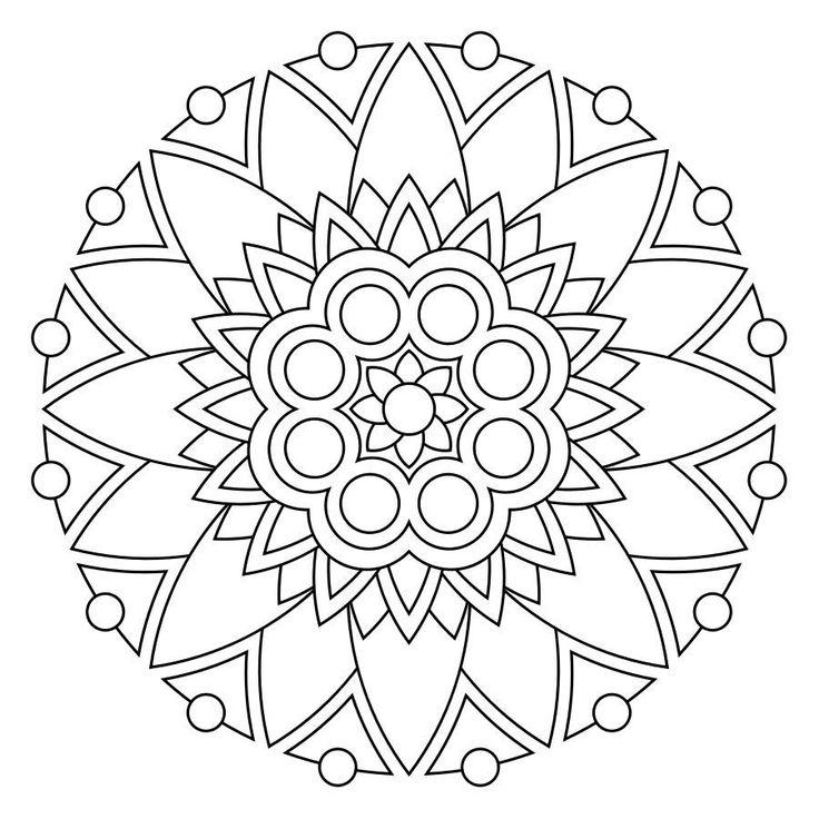 17 best Mandala images on Pinterest | Sharpies, Wasserfarben und ...