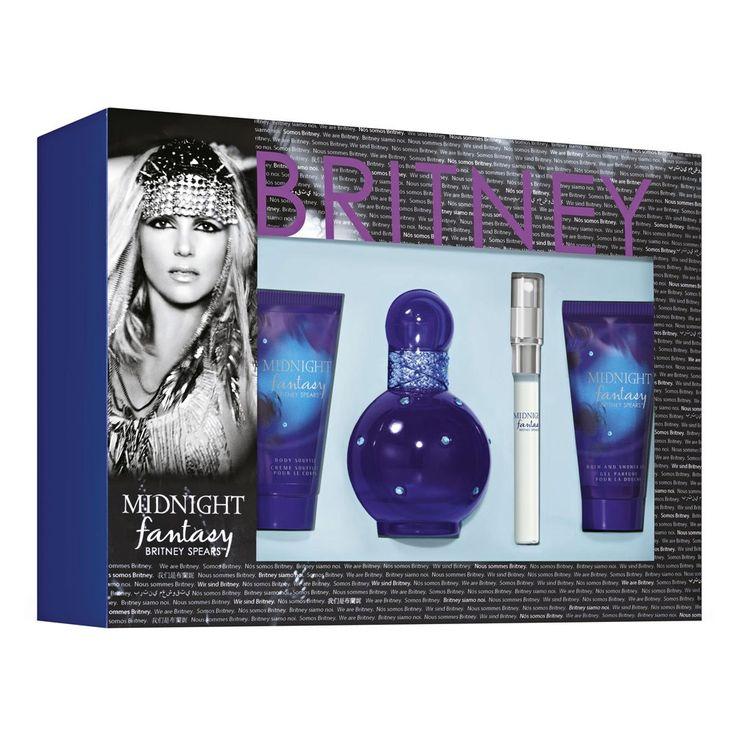$29.00 Britney Spears Midnight Fantasy EDP Gift Set 4 pack