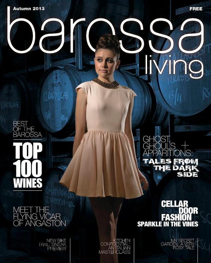 Jason Hamer - Creative Director for Autumn 2013 Barossa Living magazine. (128 pages)