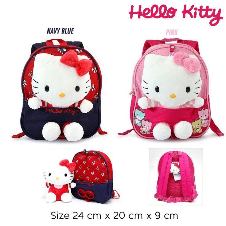 Bag - Hello Kitty   Warna : Navy, Pink   Rp 210.000    #tas #anak #sadinashop #hellokitty
