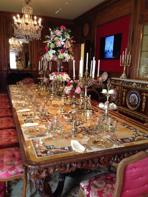 Marjorie Merriweather Post Dining Room Table