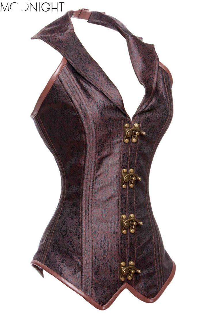 y Corset Gothic Waist Training Corset Bustier Tops Women Shapers Bone Corset Bustier Shaper Gothic Clothing Alternative Measures