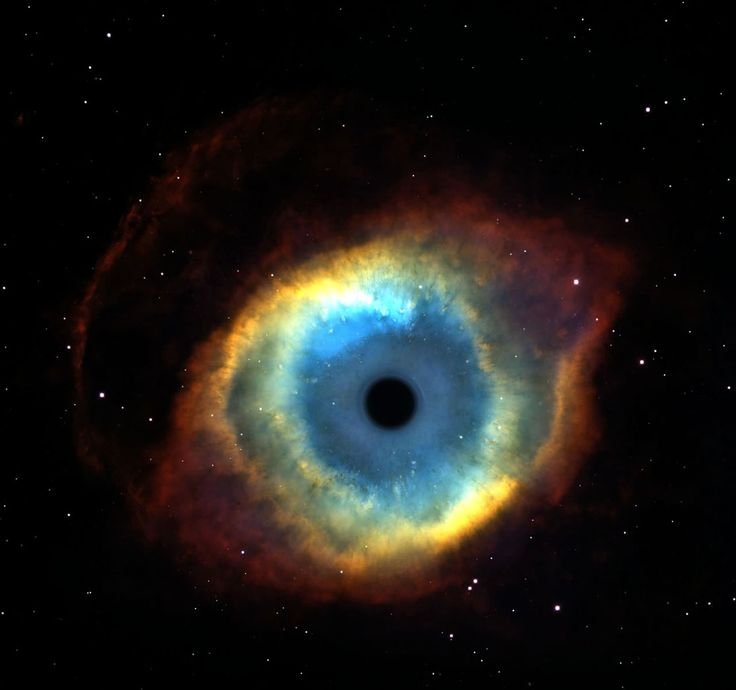 "It's called ""The Eye of God""...of course, space travel is out of the question...but it's mysterious and peaceful all at once...Jesus! Quit staring at me!"