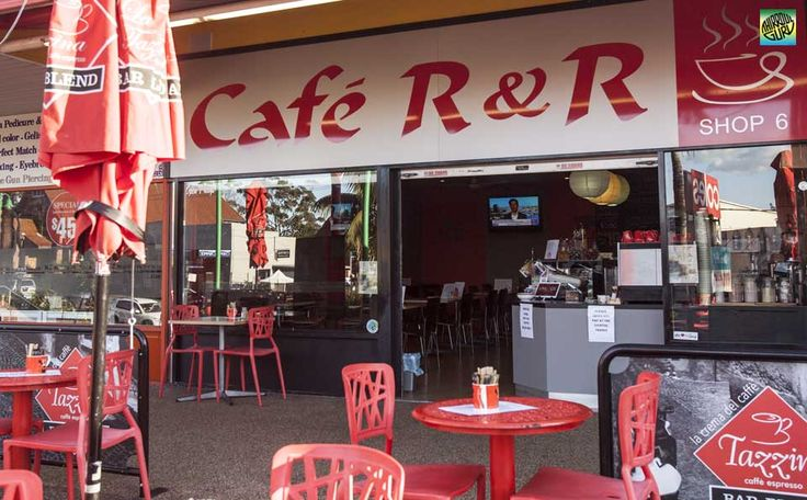 Cafe R & R has a large indoor & outdoor seating area for you to relax & enjoy great coffee & food.