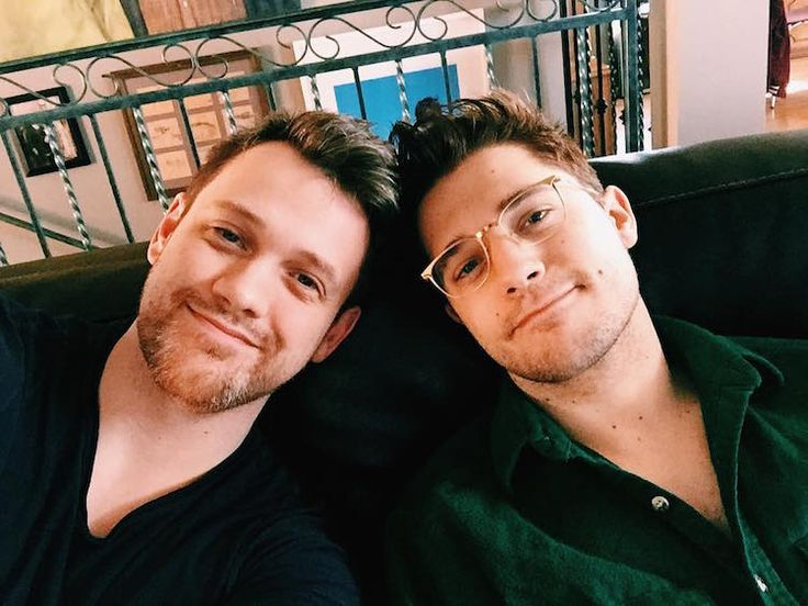 Love Rings OUT: Michael Arden & Andy Mientus