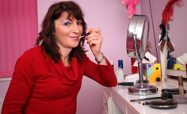 Feminine: Kirsty enjoys make-up and fashion