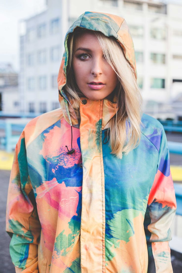 """We are injecting life into ALLWEAR with unique and bold designs to conceive products with a backbone and a heartbeat that is impervious to the elements you face anywhere. We call it """"ALLWEAR"""" because there are no rules; no bounds. Expression is your identity no matter wind, rain, or shine. Our jackets are lightweight, 100% water resistant, and unisex with colour inside and out. We are transforming dull and boring Rainwear, into expressive, bold, and colourful Allwear."""