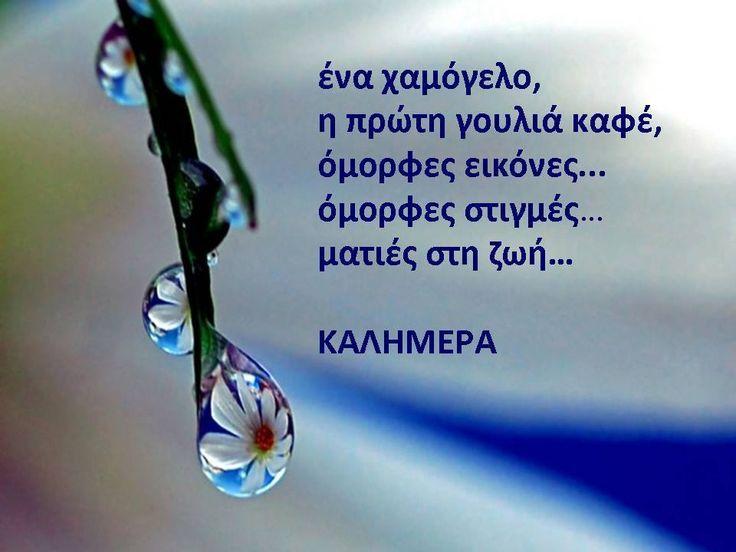 Τα καλά πράγματα στη ζωή για να τα ζήσεις με την καρδιά  δεν χρειάζεται πολύ φιλοσοφία...  μέγεθός τους είναι η απλότητα!!!!!!!!!