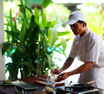 Red Bridge Restaurant & Cooking School, can include a river boat tour at the end | Hoi An, Vietnam