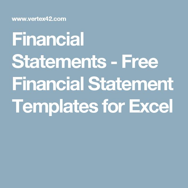 Best 25+ Financial Statement Ideas Only On Pinterest | Simple