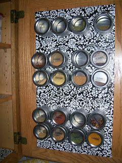 Contact paper sheet metal voila kitchen organization for Brammer kitchen cabinets