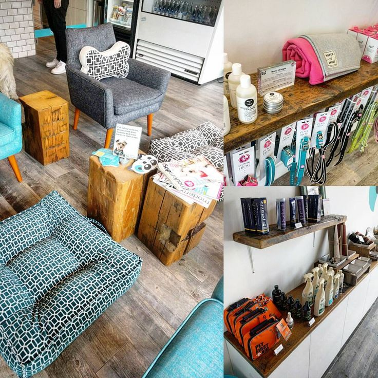Tom and Sawyer fresh prepared pet meals in Toronto used our reclaimed wood to accent their decor.  Barn beam cubes act as end tables and barn board shelving helps show off their items for sale.
