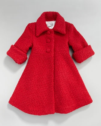 Boucle Dress Coat, 12-24 Months by Helena at Neiman Marcus.