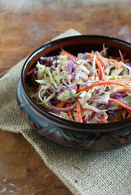 Vanilla Clouds and Lemon Drops: Our Favourite Coleslaw