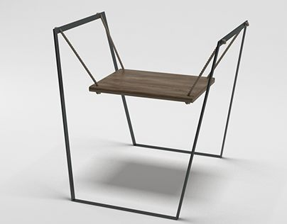 "Check out new work on my @Behance portfolio: ""Swing chair"" http://be.net/gallery/53992865/Swing-chair"