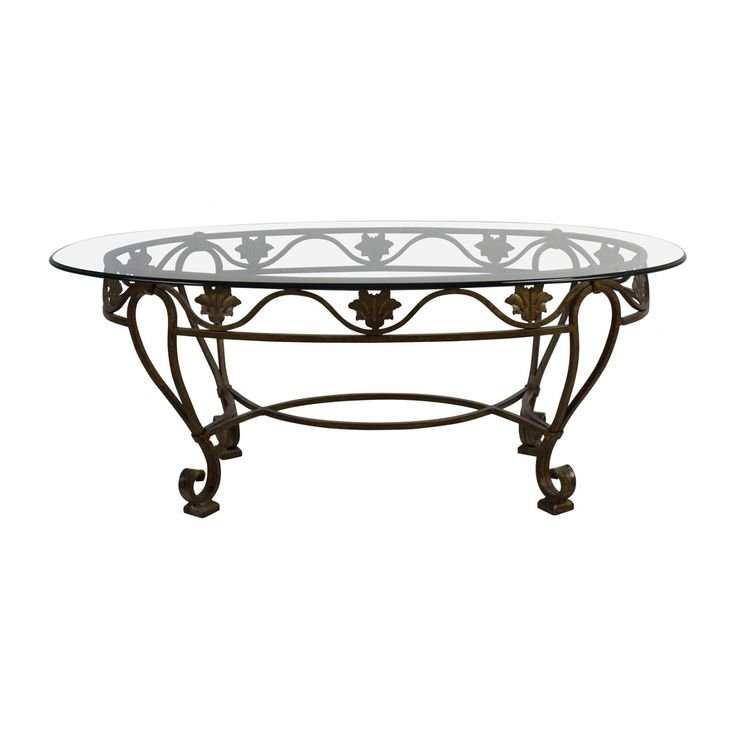 Cast Iron Coffee Table With Glass Top   Modern Italian Furniture Check More  At Http: