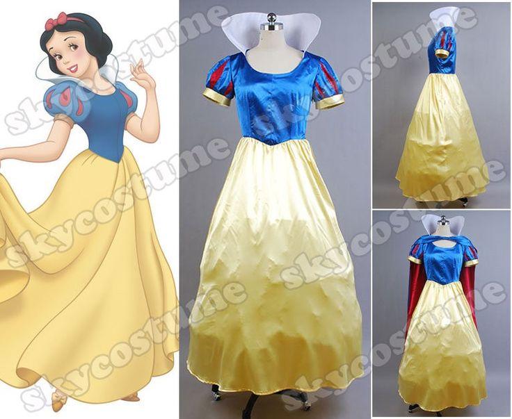 Disney Princess Snow White Fancy Dress Cosplay Costume - Skycostume