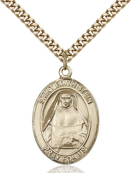 """St. Edith Stein Gold Filled 1"""""""