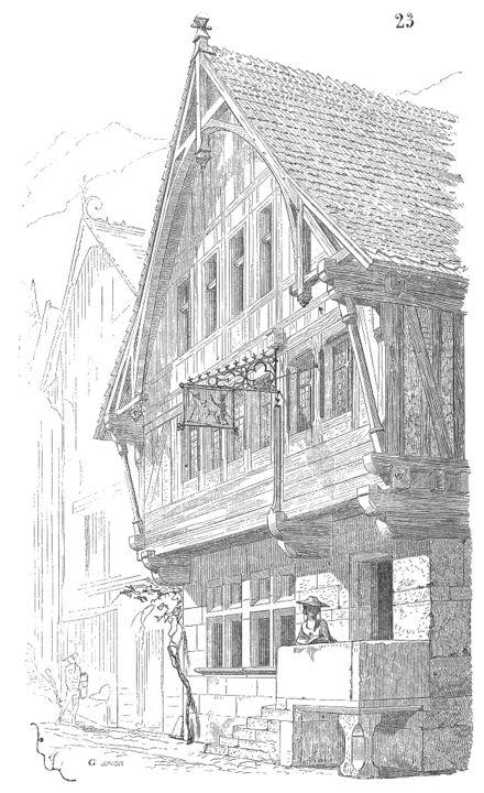 la maison de Daraco dans son village natal ressemble à celle-ci, c'est un bar et sa maison se situe au premier, deuxième et sa chambre et au troisième étage