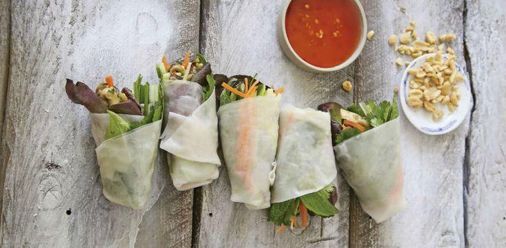 Recept van de week: loempia's met gember en paddenstoelen - VIVA