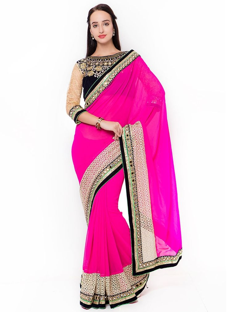 Buy Exceptional Georgette Designer Traditional Saree #sarees #saree #sari #designersaree #sareebuzzlove #sareebuzz