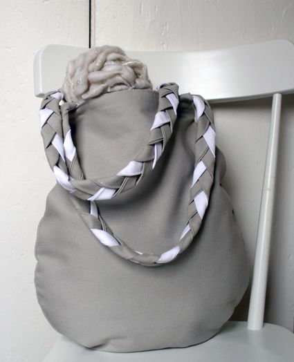 Braided Handle Canvas Tote - the purl bee: Bags Tutorials, Pattern, All Canvas, Bag Tutorials, Handle Canvas