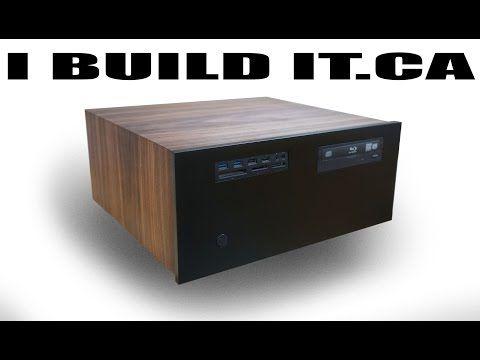 Изготовление деревянного HTPC корпуса компьютера - Современное ретро - YouTube