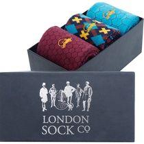 London socks company Arielle Geo 3 Pair Gift Set