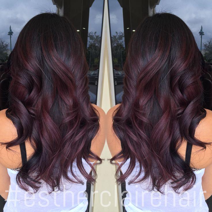 Best 25+ Dark cherry hair ideas on Pinterest